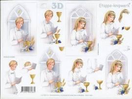 3D Bogen Kommunion/Konfirmation/LeSuh 4169655 - Bild vergrößern