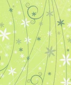 Artoz - Crea Motions- Designkarton-042-Blumenregen - limone-ca.200g/m² - Bild vergrößern