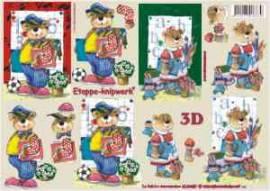 3D Etappen-Bogen-4169487-Einschulung-Bärchen