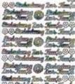 Zier-Sticker-Bogen-Einladung zur Taufe-multi-9026m