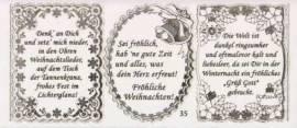 Gravur-Sticker-Bogen-GR 0035rg-Texte-Weihnachten -rot-gold - Bild vergrößern