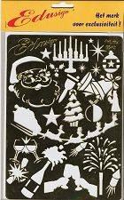 Embossing-Schablone--Weihnachten/Silvester