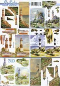3D Bogen-Etappenbogen-Leuchttürme-LeSuh- 777367
