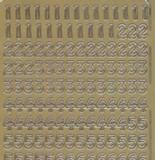 Zier-Sticker-Bogen-Zahlen-gold-023g