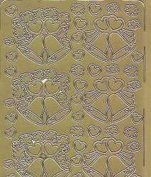 Zier-Sticker-Bogen-Hochzeitsglocken-gold-071g