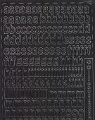 Zier-Sticker-Bogen-Alphabet-abc- schwarz-075schw