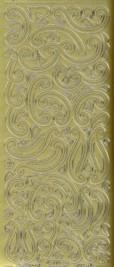 Zier-Sticker-Bogen-0110g-Ornamente-gold