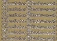 Zier-Sticker-Bogen-Herzlichen Glückwunsch--gold-278g
