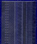 Zier-Sticker-Bogen-versch.dünne Ränder-blau/gold-306blg