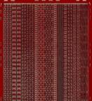 Zier-Sticker-Bogen-versch.dünne Ränder-rot/gold-306rg