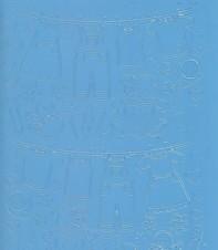 Zier-Sticker-Bogen-Baby-Motive-z.B.Wäsche-hellblau324hbl