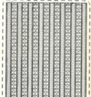 Zier-Sticker-Bogen-Ränder-transparent/silber-381trs