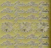 Zier-Sticker-Bogen-0423g-Alles Gute-gold