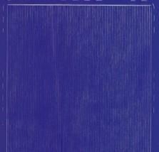 Zier-Sticker-Bogen-dünne feine glatte Ränder-gelb-8458ge