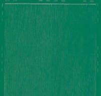Zier-Sticker-Bogen-8458gr-dünne feine glatte Ränder-grün
