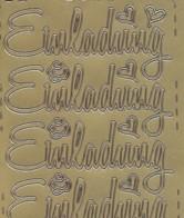 Zier-Sticker-Bogen-Einladung-groß geschrieben-gold-464g
