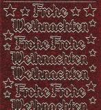 Micro-Glittersticker-Frohe Weihnachten-rot-gold-0465grg