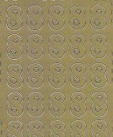 Zier-Sticker-Bogen-Zahlen-nur 8 -gold-545g
