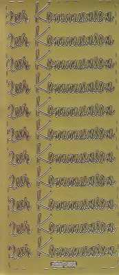 Zier-Sticker-Bogen-zur Kommunion-gold-595g