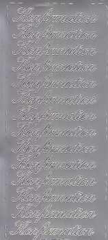 Zier-Sticker-Bogen-Konfirmation-silber-0657s