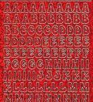 Zier-Sticker-Bogen-Alphabet-ABC-holo-rot-gold-0814hor