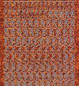 Micro-Glittersticker-Zahlen-orange/silber-0815gors