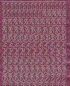 Micro-Glittersticker-Zahlen-rosa/silber-0815gros