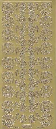 Zier-Sticker-Bogen-Rosen-gold-0823g