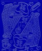 Zier-Sticker-Bogen-0838bl-Babywiege-Babymotive-blau