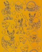Zier-Sticker-Bogen-Ostermotive-orange-0880or