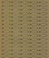 Spiegelsticker-Bogen-946spg-christliche Motive-Fische -gold