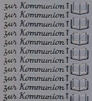 Spiegelsticker-Bogen-948sps-zur Kommunion -silber