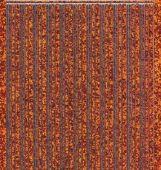 Micro-Glittersticker-glatte Ränder-orange/silber-1004gors