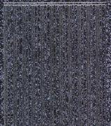 Micro-Glittersticker-glatte Ränder-schwarz/silber-1004gschws