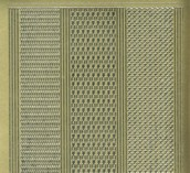 Zier-Sticker-Bogen-versch. dünne Linien-gold-1016g
