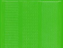 Zier-Sticker-Bogen-1016hgr-versch. dünne Linien-hellgrün
