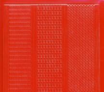 Zier-Sticker-Bogen-1016r-versch. dünne Linien-rot