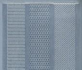 Zier-Sticker-Bogen-1016s-versch. dünne Linien-silber