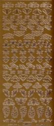 Zier-Sticker-Bogen-1022k-Ornamente und Ecken