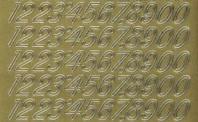 Zier-Sticker-Bogen-Zahlen-gold-1032g