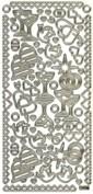 Zier-Sticker-Bogen-Hochzeitsmotive-weiß/gold-1050wg