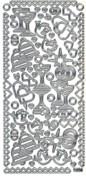 Zier-Sticker-Bogen-Hochzeitsmotive-weiß/silber-1050ws