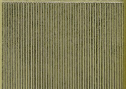 Zier-Sticker-Bogen-glatte dünne Linien-gold-1082g