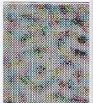 Zier-Sticker-Bogen-1104wm-feine-Ränder-weiß/multi