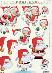 3D Etappen-Bogen-Morehead 032 -Weihnachtsmann