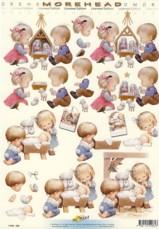 3D Etappen-Bogen-Morehead 064-Kinder an Krippe