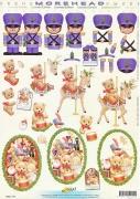 3D Etappen-Bogen-Morehead 141-Weihnachten/Spielzeug