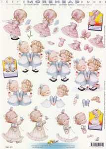 3D Etappen-Bogen-Morehead 221-  fröhliche Mädchen