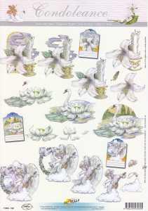 3D Etappen-Bogen-Trauer/Kondolenz-11053-162