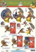 3D Bogen-Etappenbogen-Weihnachtspost-11053-702